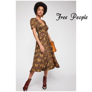 Free People Olivia Midi Dress